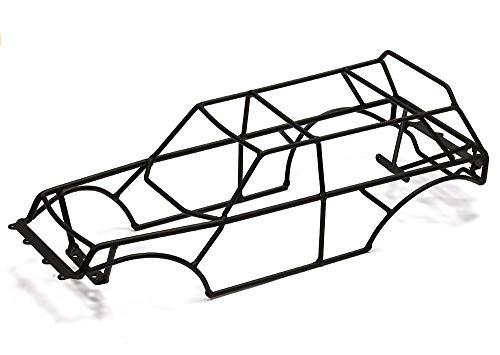 Integy RC Model Hop-ups C24695BLACK Steel Roll Cage for Traxxas 1/10 2WD Monster Jam Series - Rc Jam-trucks Monster