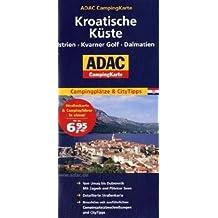 ADAC Campingkarte Kroatien (Camping und Caravaning)