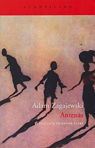 Portada del libro Antenas (El Acantilado)