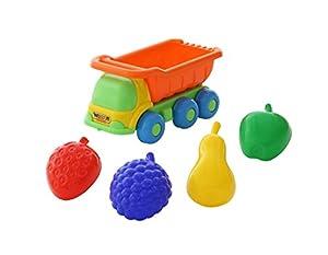 Polesie Polesie57839 Kesha - Camión de Juguete con 4 Formas de Frutas