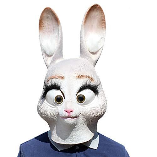 Smijst Verrückte Tier Stadt Cartoon Judy Kaninchen Faultier Nick Maske Kopfbedeckung Cos Prom - Tier Kostüm Party Stadt