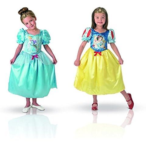 Rubie's - Disfraz Blancanieves de niña, talla M a partir de 5 años (I-881861M)
