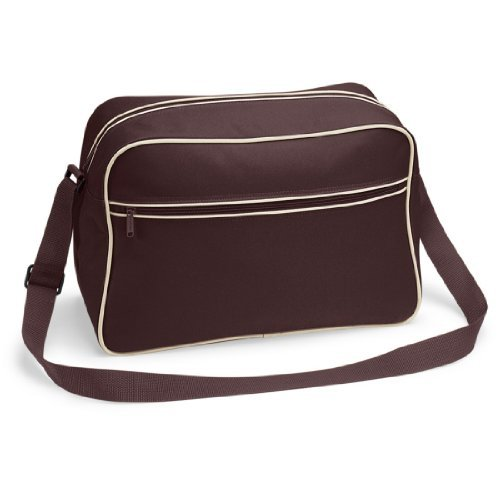 Shirtstown Retro Shoulder Bag, Umhängetasche, Schultertasche, Retro, Tasche chocolatesand