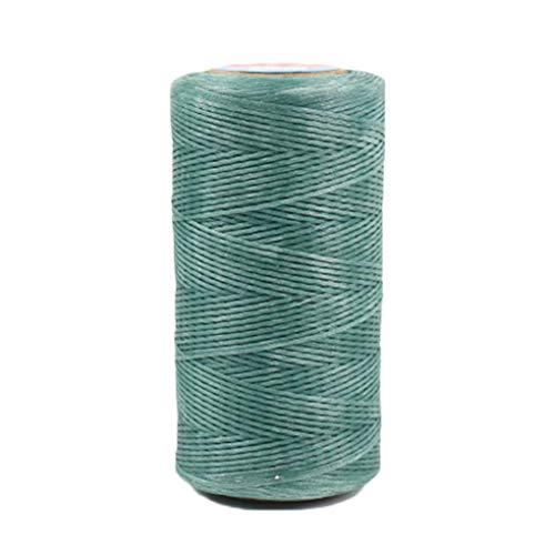 Handmade Cord (Minzhi 0.8mm 260m Handmade Bohemia Macrame Thread DIY Wall Craft Making Knitting Cord Rope Luggage Wax Rope)
