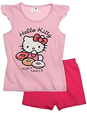 Hello Kitty Chicas Pijama mangas cortas - fucsia