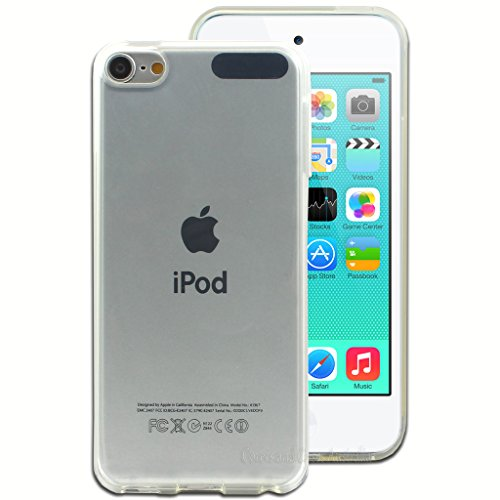 PES Perfect Soft 0.3mm Ultra Thin Transparent Clear TPU Soft Back Case Cover For Apple iPod touch 6th generation