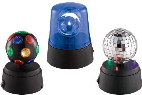 Ibiza Lighty-Party Iluminación LED para fiestas de 3 piezas