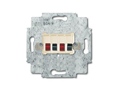 Busch-Jaeger 0248/02-101 Stereo-Lautsprecher-Anschlussdose