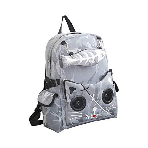 qiyan , Bluetooth Lautsprecher Rucksack Rucksack Schultasche