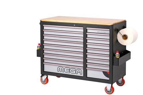 MEGA Sonic Equipment, Werkstattwagen, für 644 Werkzeuge, 7644 - 2