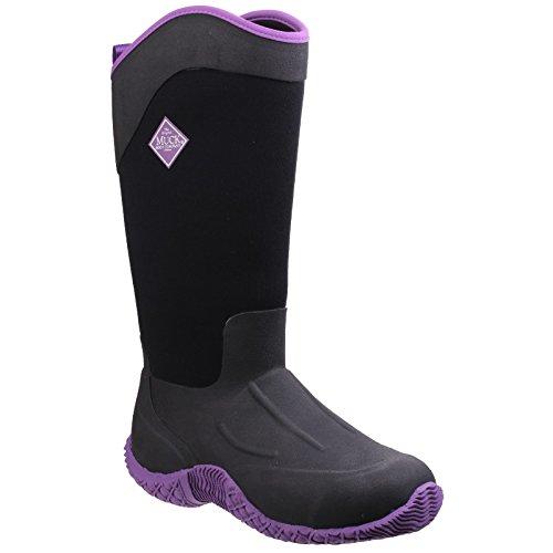 Muck Boots Women's Tack II Tall Work Wellingtons, Black, 10 M US