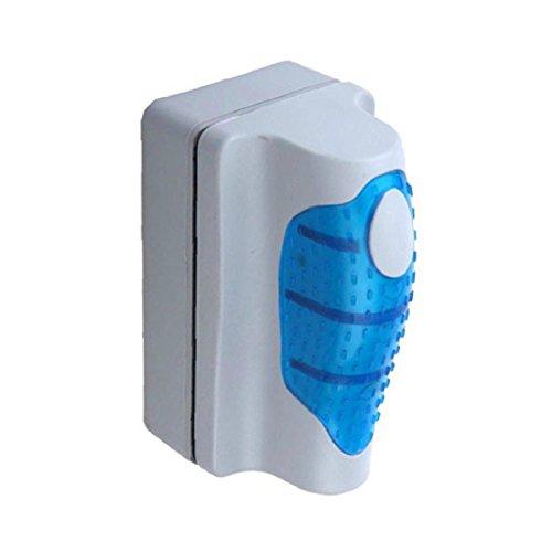 Amison acquario accessori conveniente magnetico spazzola acquario pesce serbatoio vetro alghe raschietto pulitore galleggiante curva