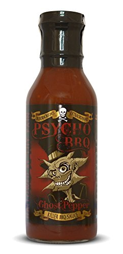 Psycho Grill - Ghost Pfeffer Barbecue Sauce