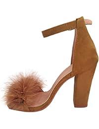 hunpta - Sandalias de vestir para mujer