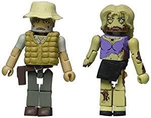 Walking Dead Minimates Series 1 Dale And Roamer Zombie (Pack Of 2)
