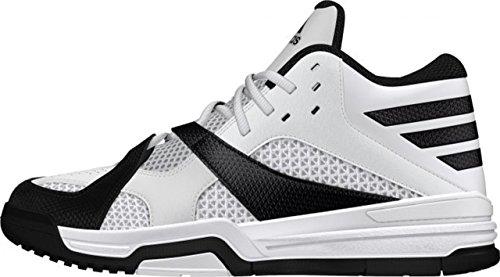 adidas First Step, Chaussures de Sport-Basketball Homme Noir, blanc  (Negbas / Ftwbla / Negbas)