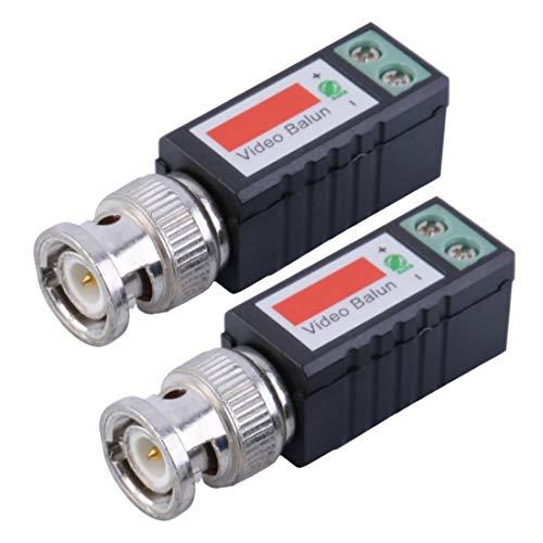 Gemeinsame Anti-Interferenz Single 1 Kanal Passive Video Transceiver BNC Stecker Koaxial Adapter Für Balun CCTV Kamera DVR BNC UTP