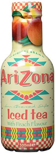 Arizona Ice Tea Peach PET, 6er Pack, EINWEG (6 x 500 g)