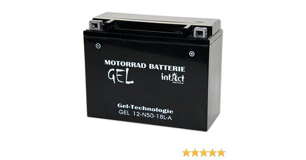 Intact Bike Power Gel 12v 19ah Y50 N18l A 52012 Gel12 N50 18l A Auto