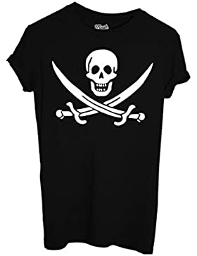 T-SHIRT JOLLY ROGER-FAMOSI by MUSH Dress Your Style - Uomo-L