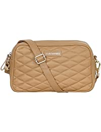 Justanned Quilted Crossbody Bag