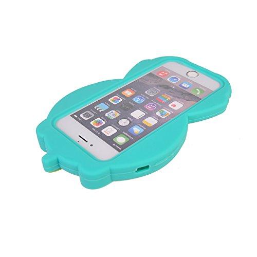 iPhone 6/ 6S (4.7 inches) Hülle,COOLKE 3D Fashion Klassische Karikatur weiche Silikon Shell Schutzhülle Hülle case cover für Apple iPhone 6/ 6S (4.7 inches) - 014 006