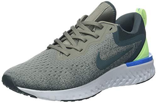 Nike Odyssey React, Zapatillas de Gimnasia para Hombre, Gris (Dark Stucco/Faded Spruce/Lime 009), 43 EU