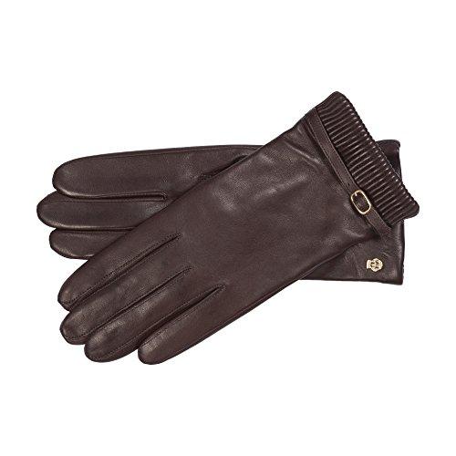 Roeckl Damen Handschuhe 13012-361, Braun (Coffee 780), 7