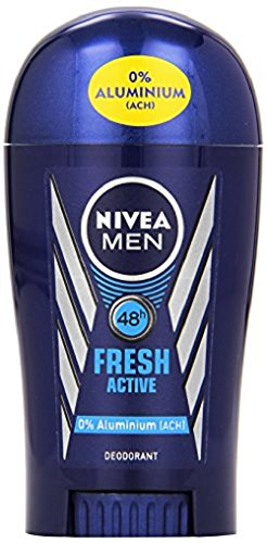 Nivea Men Fresh Active Deo-Stift, Deo-Schutz, 3er Pack (3 x 40 ml)