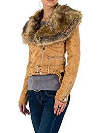 Amazon Fr Blouson Daim Femme Vetements