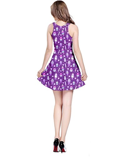 CowCow - Robe - Femme Turquoise turquoise Violet