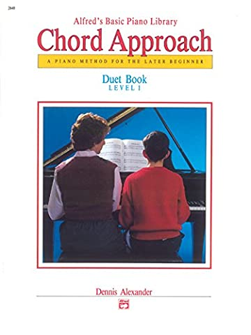 Alfred's Basic Piano Library, Chord Approach: Duet Book, Level 1, a Piano Method for the Later Beginner