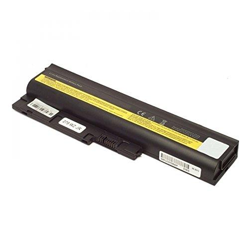 MTXtec Akku, LiIon, 10.8/11.1V, 5200mAh, schwarz für Lenovo ThinkPad R61i (7650), IBM Lenovo Akku ThinkPad T500 R500 W500 T60 92P1133 92P1141 Battery 41+