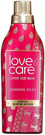 Love & Care Shining Silks Expert Care Wash Liquid Detergent, 50