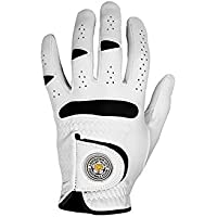 LEICESTER CITY FC GOLF GLOVE, SIZE MEN'S SMALL