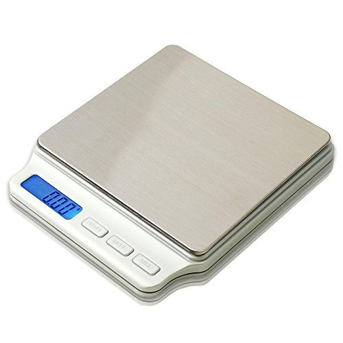 PROINTxp® Precision Scale PTPT-500 with 500g Capacity in 0.01 Gram Increments (White)