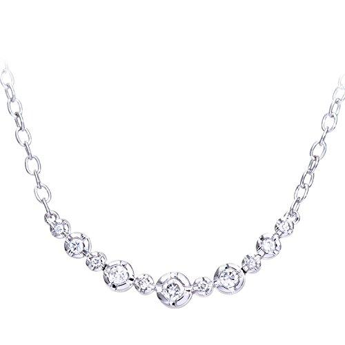 Naava 9ct Weiß Gold 0,25kt Diamanten