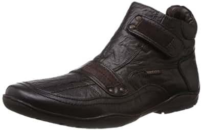 Buckaroo Men's Eva NX Brown Leather Boots - 6 UK