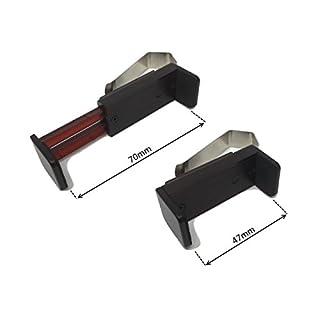 Universal Auto Sonnenschutz Visier Clip Halterung Ständer für Fernbedienungen, Visier und leicht zu finden, verstellbar, um verschiedene Größe Fernbedienungen 47–70mm