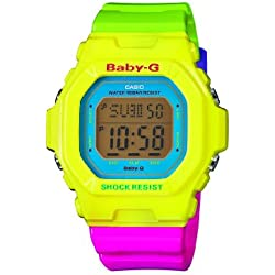 Casio Baby-G – Damen-Armbanduhr mit Digital-Display und Resin-Armband – BG-5607-9ER