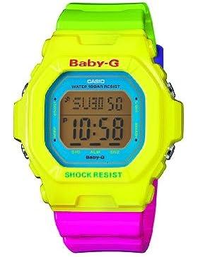 Casio Baby-G Damen Digital mit Resin Armbanduhr BG56079ER