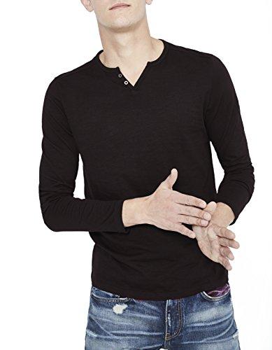 Celio Herren T-Shirt Abelong Schwarz - Schwarz