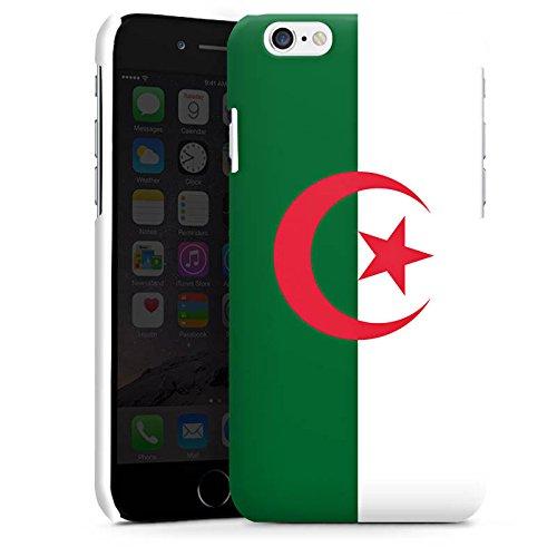 Apple iPhone 6 Housse Étui Silicone Coque Protection Algérie Drapeau Ballon de football Cas Premium brillant