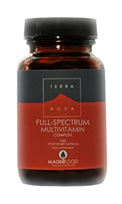 Full Spectrum Multivitamin Complex (100 caps) by Terranova