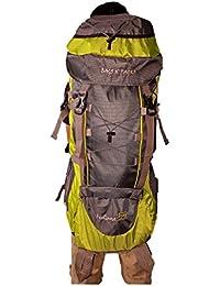 GioGio Footloose Adventures 55 Ltrs Green & Grey Backpack/Rucksack/Travelling Bag/Hiking Bag/Adventure Bag/Camping...