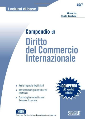 Compendio di diritto del commercio internazionale