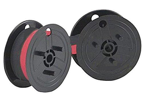 Farbband - schwarz-rot- für Sharp CS 2635 RH als Doppelspule für CS2635RH Gr.... (Sharp Farbband)