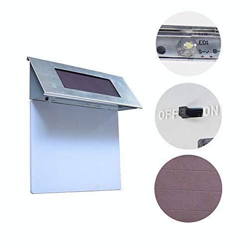 Nombre del producto: Solar Digital House LightTipo: luz solar del pasilloNivel de protección: IP65Tipo de fuente de luz: LEDEnergía clasificada: 0.3 (W)Voltaje: 1.2 (V)Tiempo de sol: 6 (h)Material: cuerpo de acero inoxidable, interruptor de botón a p...