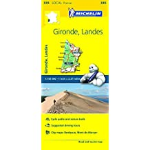 Michelin FRANCE: Gironde, Landes Map 335 (Maps/Local (Michelin)) by Michelin Travel & Lifestyle (2016-04-07)