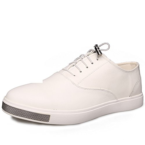 scarpe casual/Scarpe d'Inghilterra/Scarpe uomo/Studentesse Scarpe-A Lunghezza (Nero Smooth Pu Bambini Scarpe)